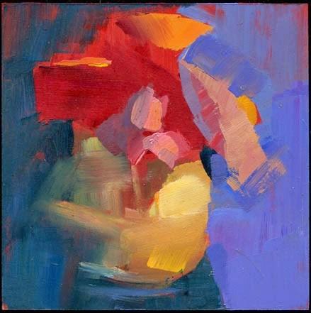 """2003 key"" original fine art by Lisa Daria"