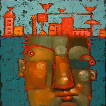 """Ten Feet Under"" original fine art by Brenda York"