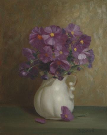 """""""Ten Cent Bag of Seeds #712"""" original fine art by Dee Lessard"""