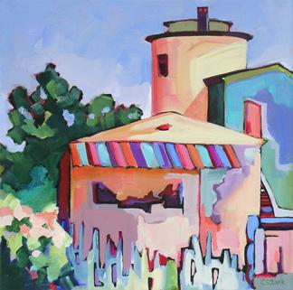 """Patricks Point"" original fine art by Carolee Clark"