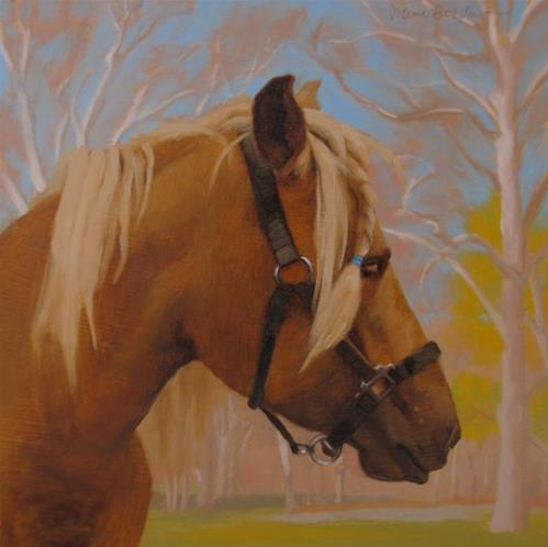"""Santana"" original fine art by Diane Hoeptner"