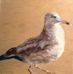 """Seabird Series 8"" original fine art by Debra Kennedy"