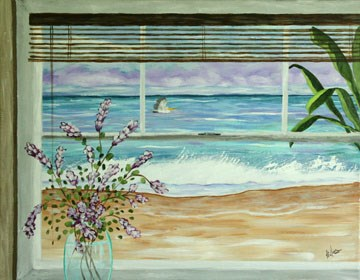 """""""Ocean View by Sunny Williams"""" original fine art by Sunny Williams"""
