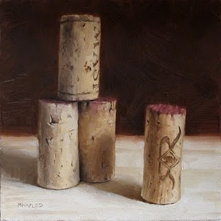 """Cork Tower"" original fine art by Michael Naples"