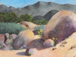 """Arroyo"" original fine art by Robert Frankis"