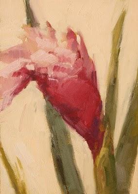 """Ginger Blossom"" original fine art by Laurel Daniel"