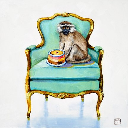 """and gonna eat it too"" original fine art by Kimberly Applegate"