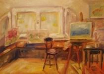 """My room"" original fine art by Maggie Flatley"