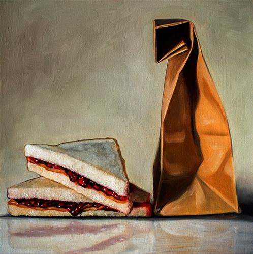 """Peanut Butter and Jelly"" original fine art by Lauren Pretorius"