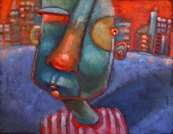 """Gadabout"" original fine art by Brenda York"