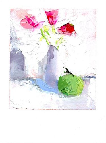 """Grown Up Kind of Pretty"" original fine art by Heather Bennett"