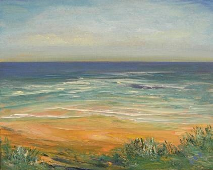 """2086 - Summer Dunes"" original fine art by Sea Dean"