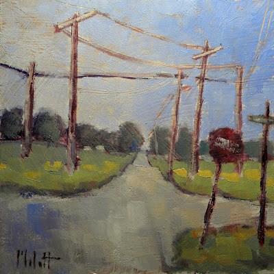 On the Grid original fine art by Heidi Malott