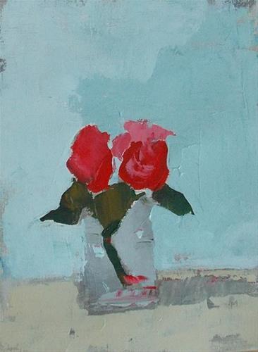 """Impressionistic Coral"" original fine art by Pamela Munger"