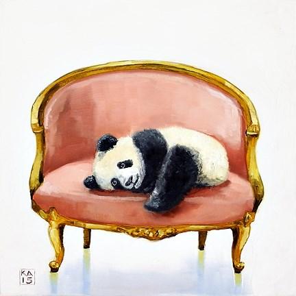 """pooped"" original fine art by Kimberly Applegate"