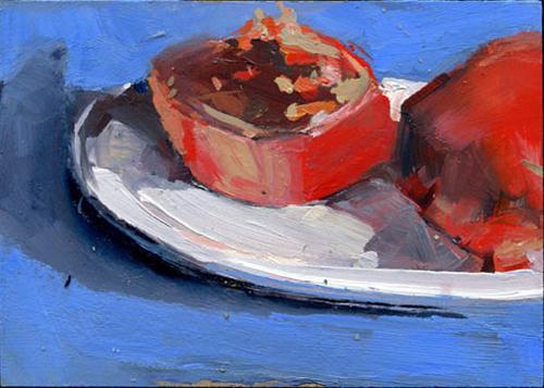"""Year of the Fruit #950"" original fine art by Lisa Daria"
