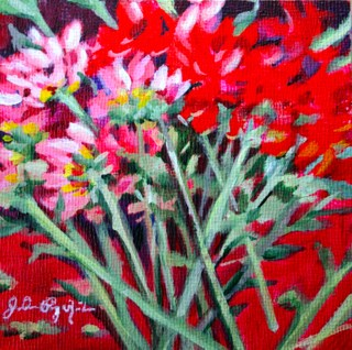 """Stems"" original fine art by JoAnne Perez Robinson"