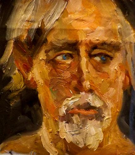 """Portrait,D6"" original fine art by Run-      Zhang Zane"
