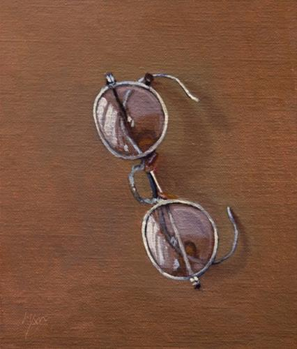 """""""Spectacles (After George Cope, 1900)"""" original fine art by Abbey Ryan"""
