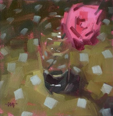 """A Rose by Any Other Name"" original fine art by Carol Marine"
