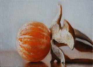 """Clementine 2"" original fine art by Jonathan Aller"