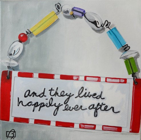 """Happily Ever After V"" original fine art by Andre Beaulieu"