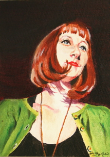 """Stinga"" original fine art by JoAnne Perez Robinson"
