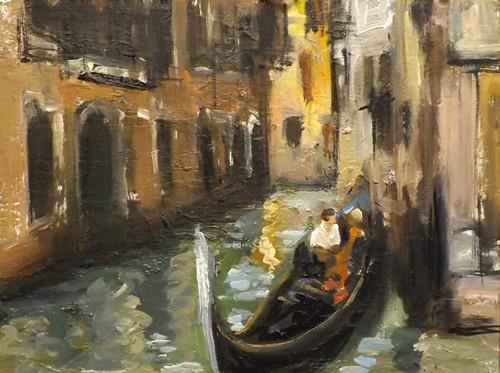 """Venice,U26"" original fine art by Run-      Zhang Zane"
