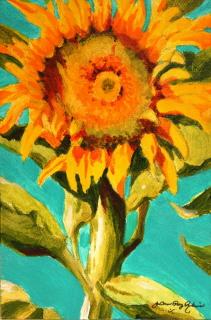 """Garden Goddess"" original fine art by JoAnne Perez Robinson"