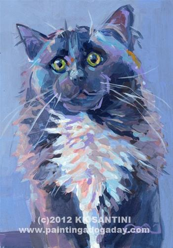 """Scout"" original fine art by Kimberly Santini"