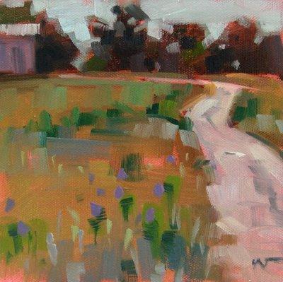 """Goin' Home"" original fine art by Carol Marine"