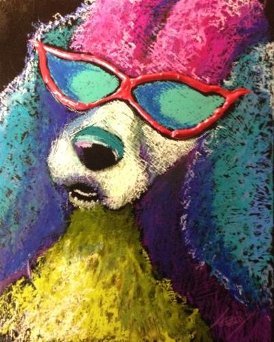 """What? They Had My Colors Done?"" original fine art by Jeff Leedy"