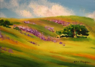 """What A Little Rain Can Do"" original fine art by JoAnne Perez Robinson"