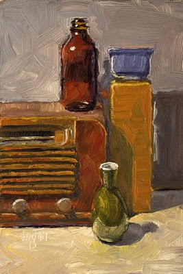 """Still Life Landscape #9"" original fine art by Raymond Logan"
