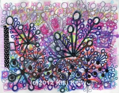 """Applause"" original fine art by Kimberly Santini"
