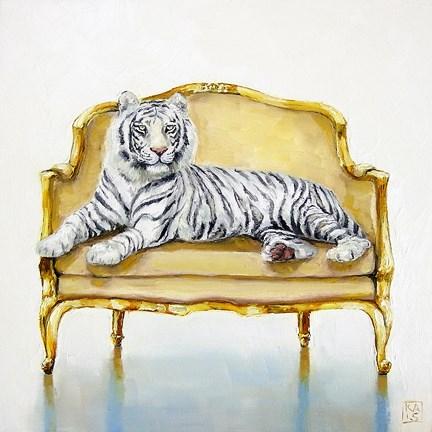 """white gold"" original fine art by Kimberly Applegate"