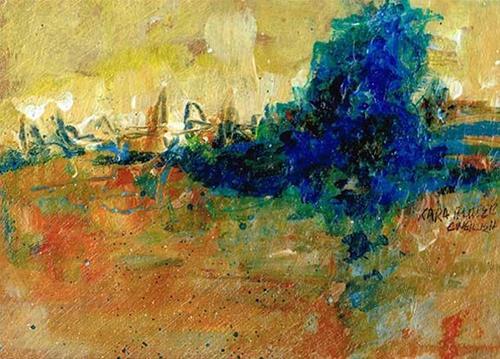 """Golden Morning"" original fine art by Kara Butler English"