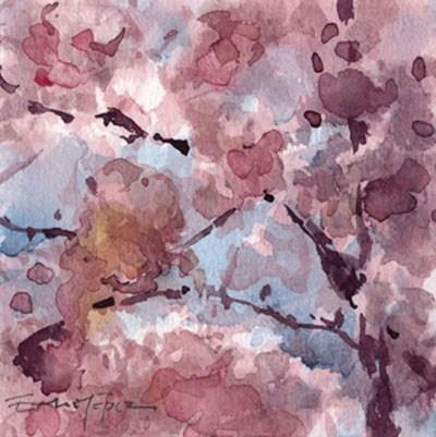 """""""flores 15"""" original fine art by Emilio López"""