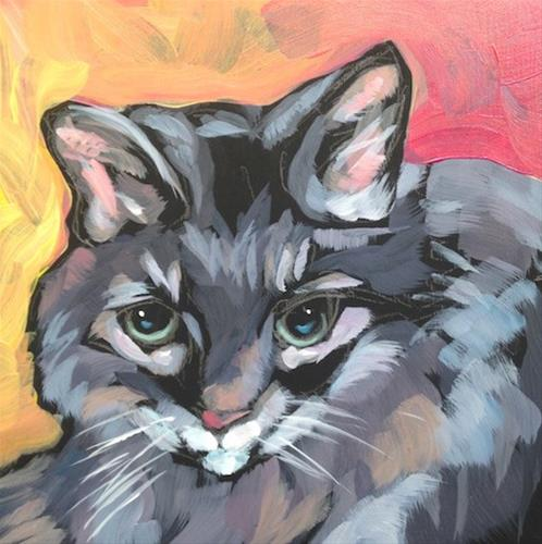 """""""March 17, Morrison"""" original fine art by Kat Corrigan"""