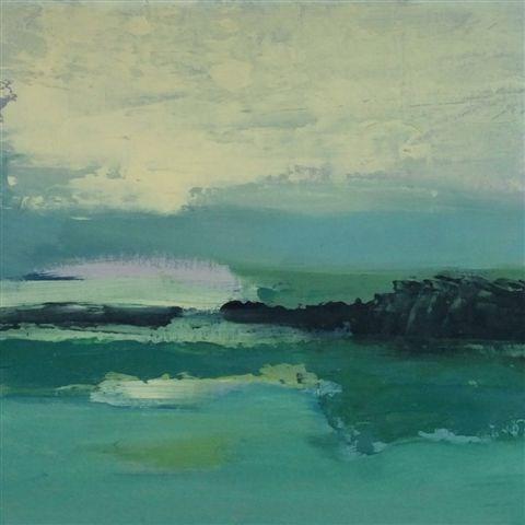 """Landscape 55"" original fine art by Ewa Kunicka"