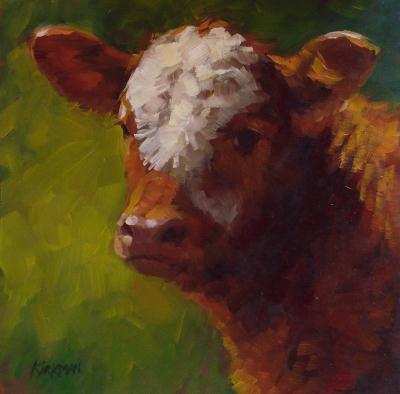 """Rusty"" original fine art by Rita Kirkman"