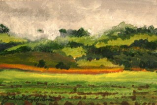 """Rain Likely"" original fine art by JoAnne Perez Robinson"