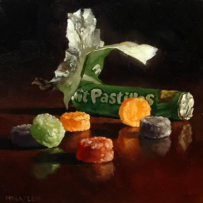 """Fruit Pastilles No.2"" original fine art by Michael Naples"