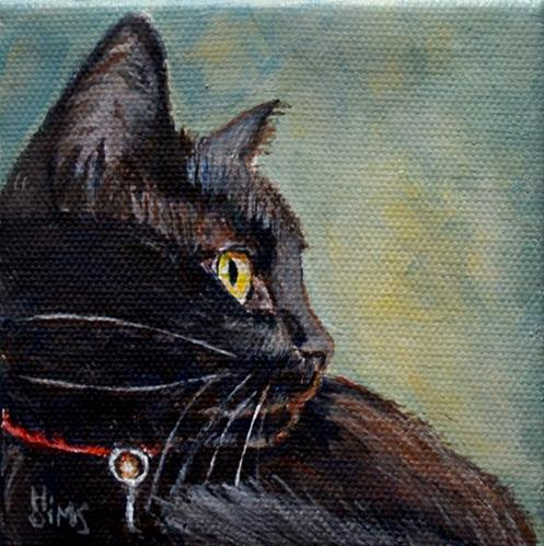 """Molly"" original fine art by Heather Sims"