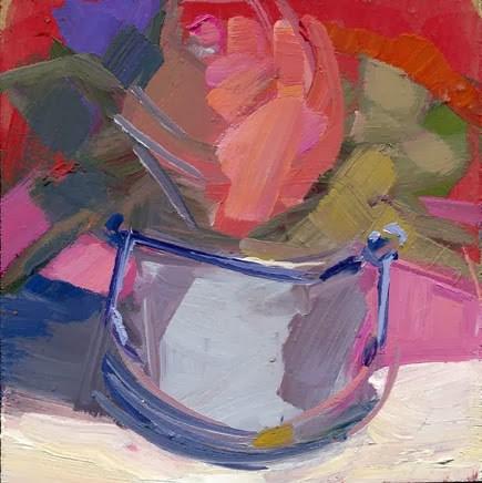"""1636 Mercury Glass"" original fine art by Lisa Daria"