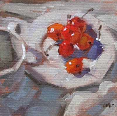 """Bright Spot"" original fine art by Carol Marine"