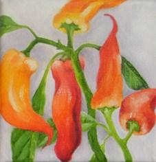 """Pepper Tree 2"" original fine art by Elaine Lynest"