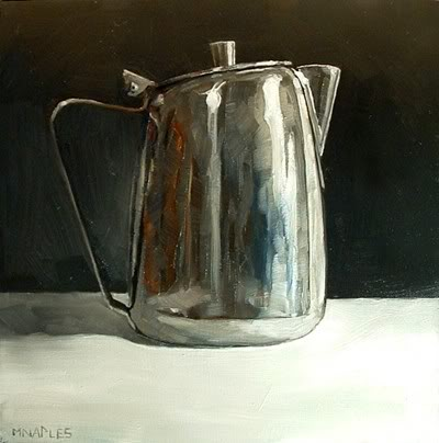 """Creamer"" original fine art by Michael Naples"