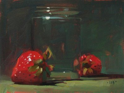 """""""Come Here Now!"""" original fine art by Carol Marine"""