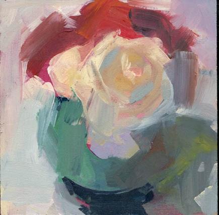"""""""1306 Pretend"""" original fine art by Lisa Daria"""